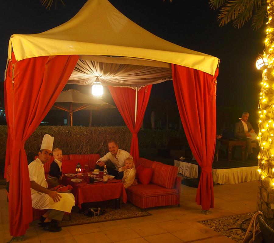 Fortryllet marokkansk aften