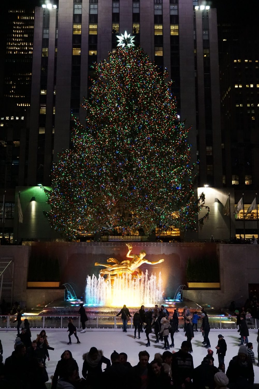 Rockefeller Christmas Tree - Homehappy