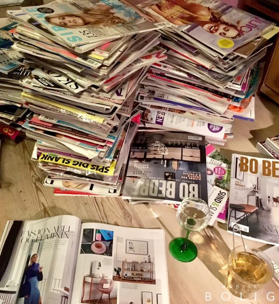 magasiner-magazines-konmari-marie-kondo-wine-oprydning-declutter-tidying