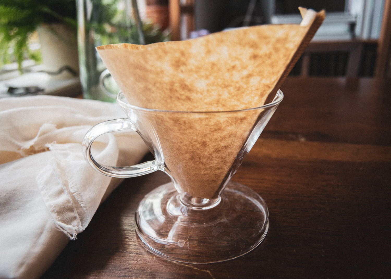 hjemmelavet kaffefilter, homemade coffee filters