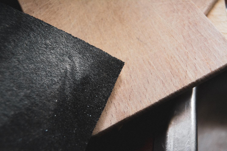 sandpapir, sandpaper, wooden kitchen tools, træredskaber