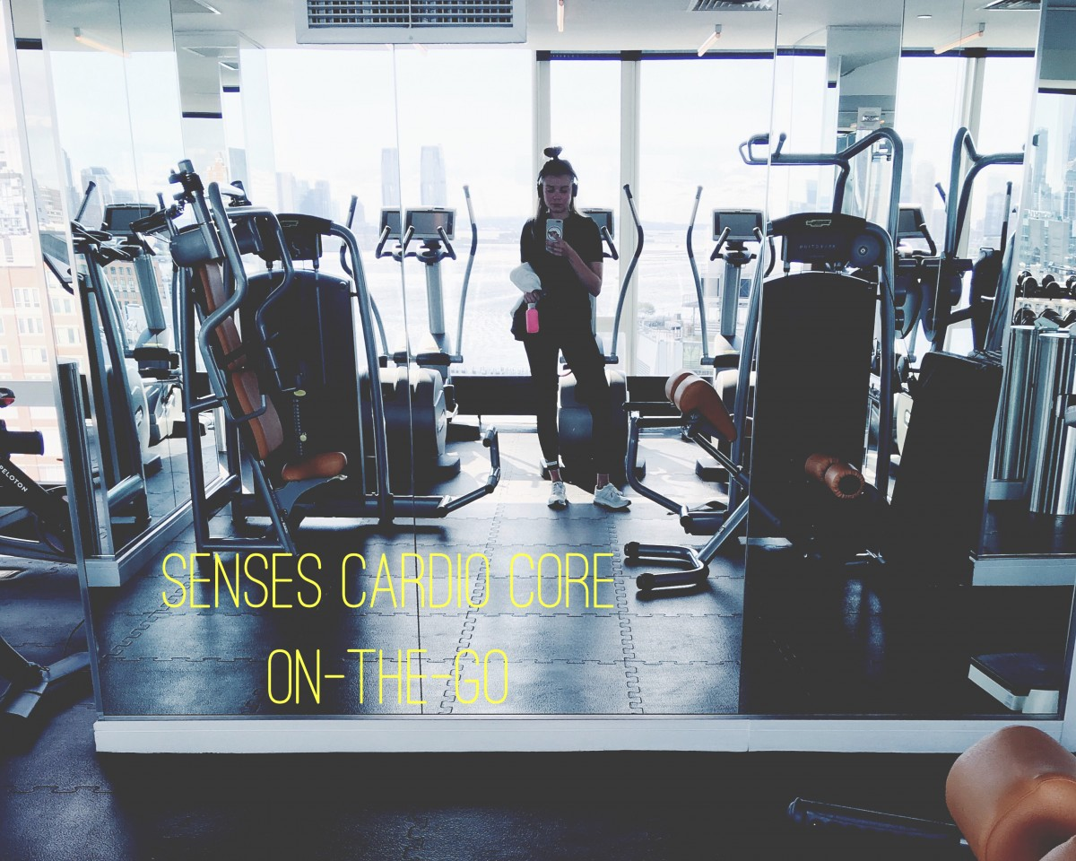 simply fit, senses cardio core, todays workout, hiit, high intensity, interval training, on the go, traveling, hotel room workout, på rejsen, træning, cirkeltræning, costume