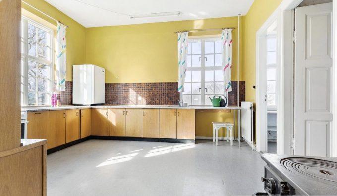 Det nuværende køkken.