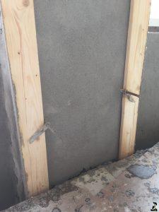 Murearbejde med fin pudsede vægge-003