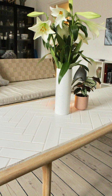 plankebord sildeben | Spisebord, Diy sofabord, Sildebensmønster