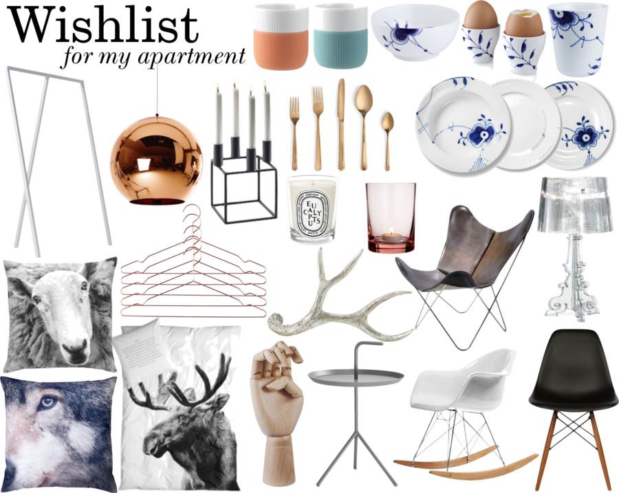wishlist for apartment #1