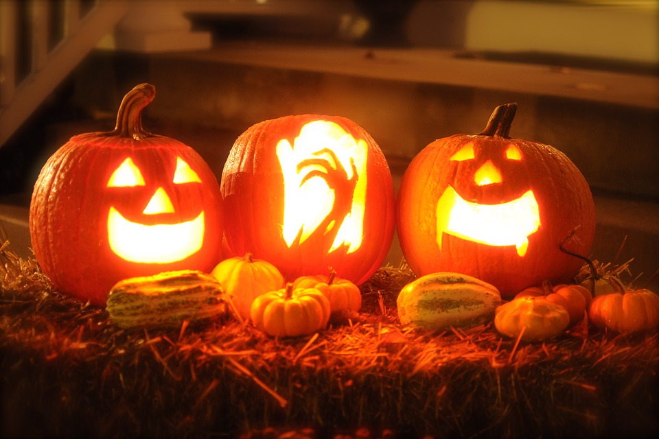 ingen halloween uden græskar