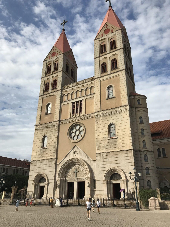 Kirke i Qingdao i tysk stil