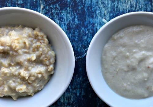 Forskellen på en hjemmelavet havregrød og en pulver-havregrød