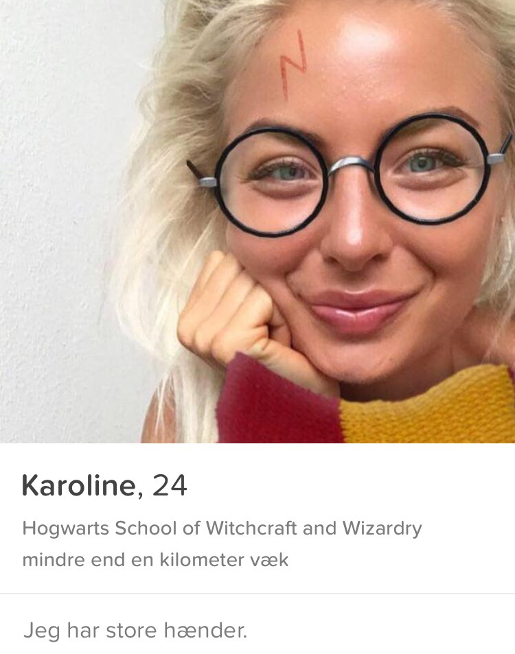 sjov dating profil tekst