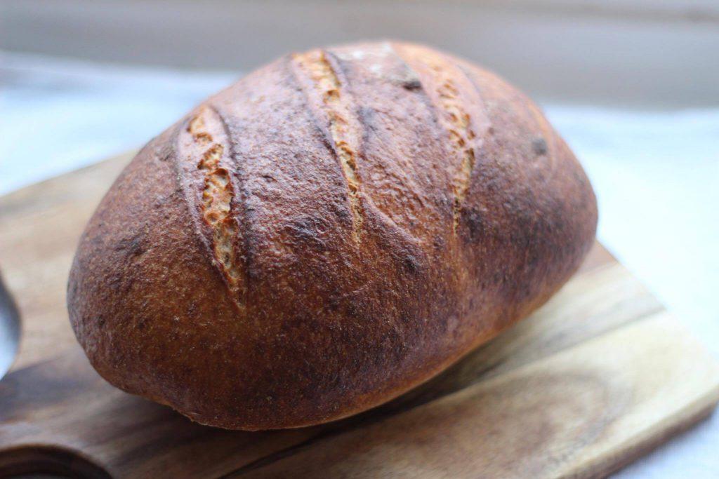 Hjemmebagt brød