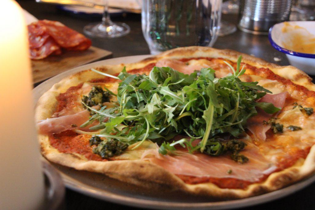 Til åbningsreception hos Gorm's Pizza i Odense