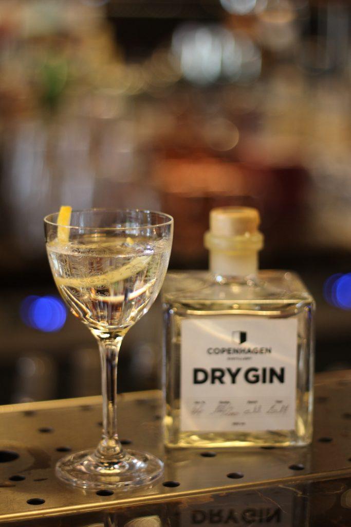 Dyr Martini med Copenhagen Distillery Dry Gin