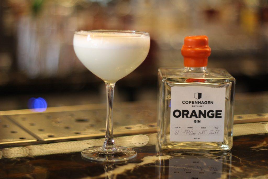 Copenhagen Distillery Orange Gin - White Lady