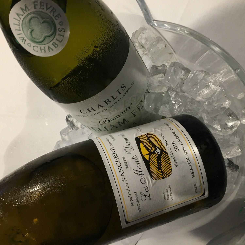 ... og kølig hvidvin.