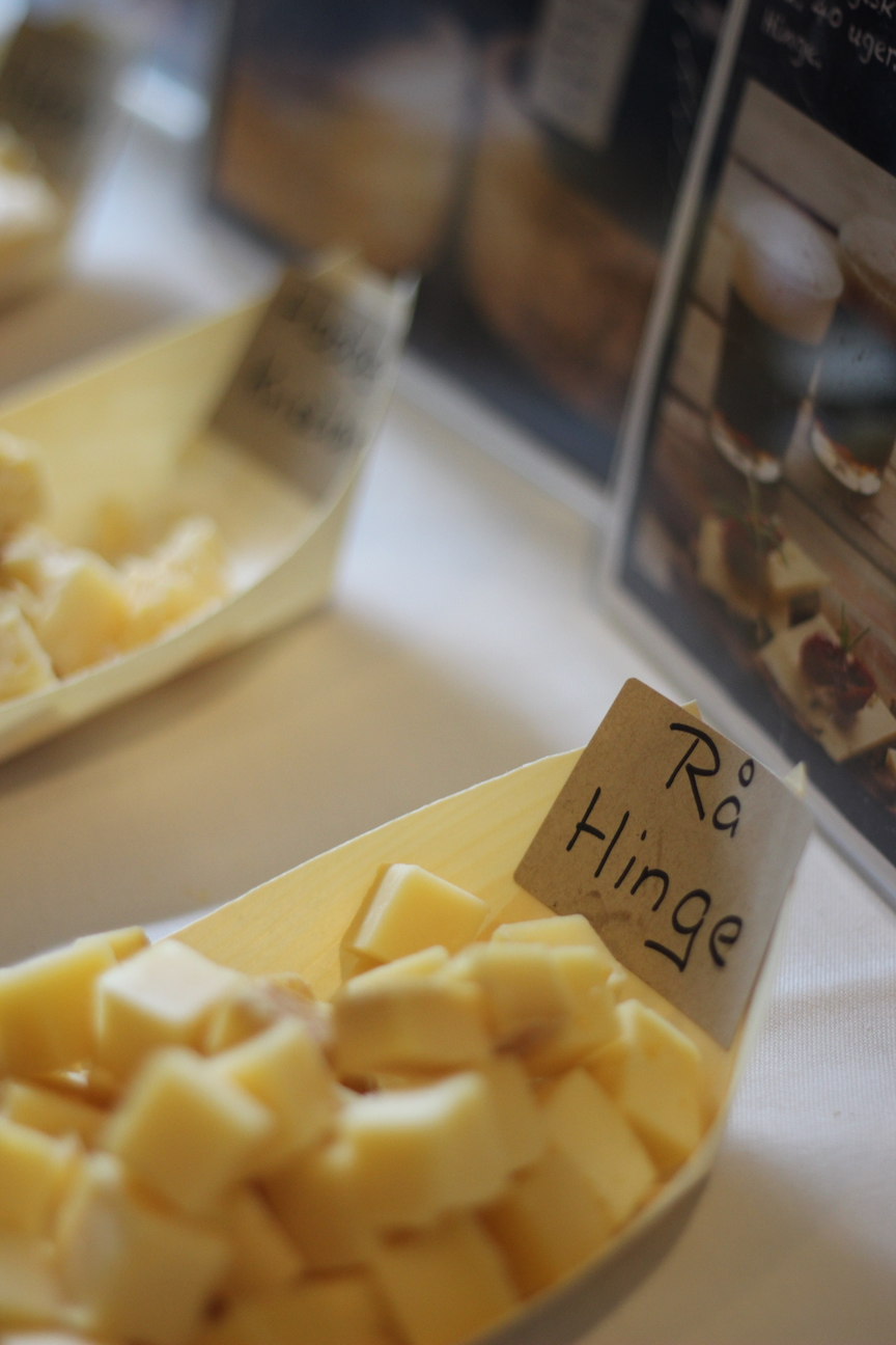 Slow Cheese Copenhagen 2017. Rå Hinge.