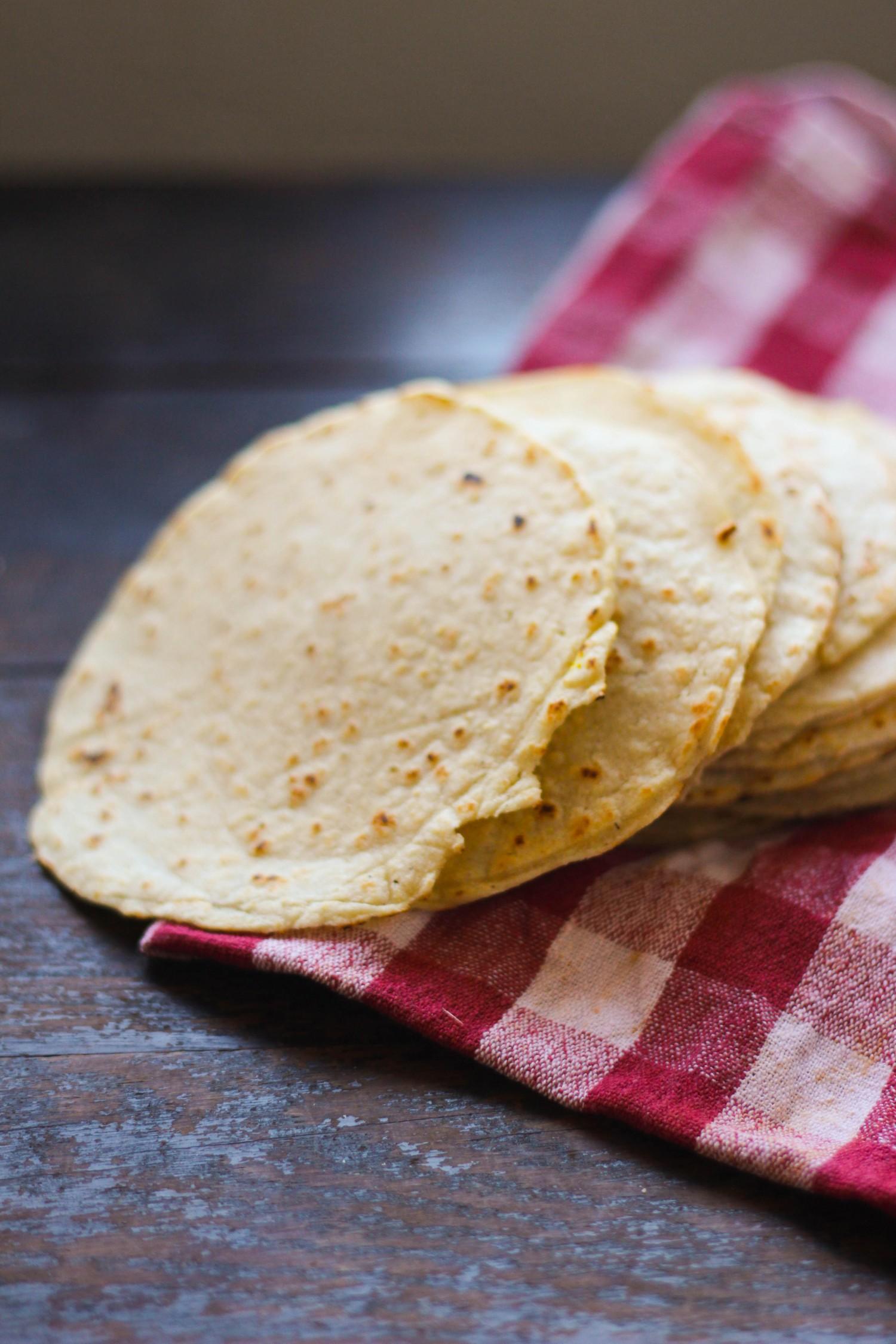 Tortilla - hjemmelavede majspandekager til taco
