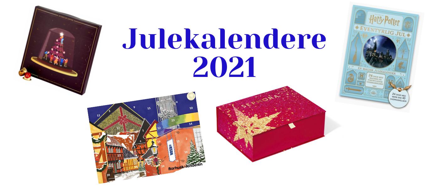 Inspiration til årets julekalendre 2021