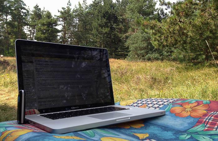 Blogging i sommervarmen