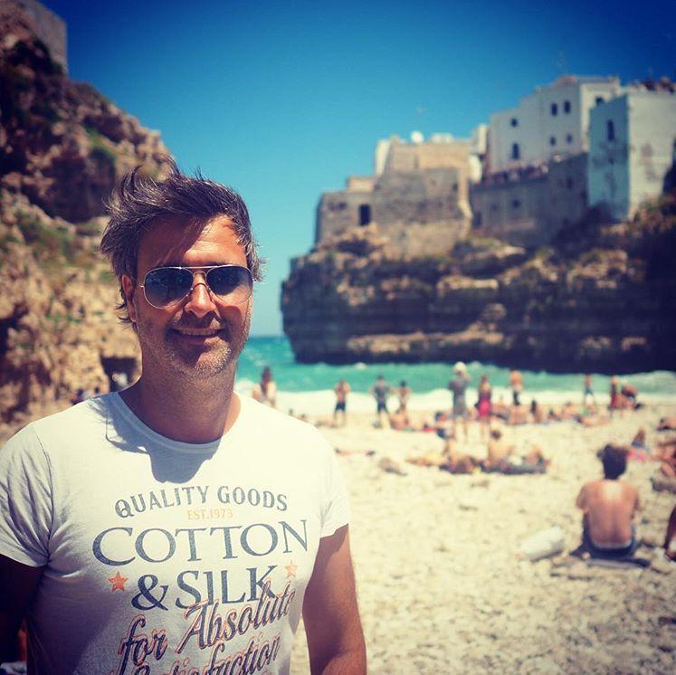 En sjælden gratis spiaggia - her i smukke Polignano a Mare.
