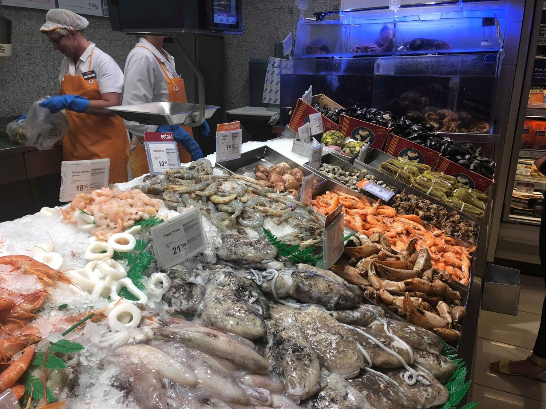 Supermarked Sant Feliu.