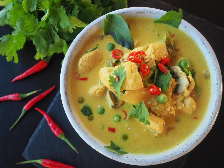 Thaicurry chicken kylling foodroar