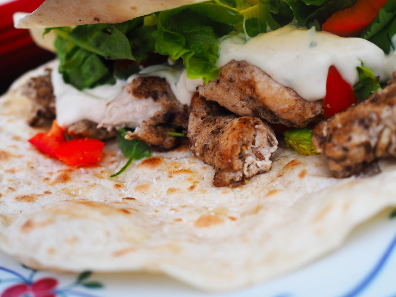 kebab kylling