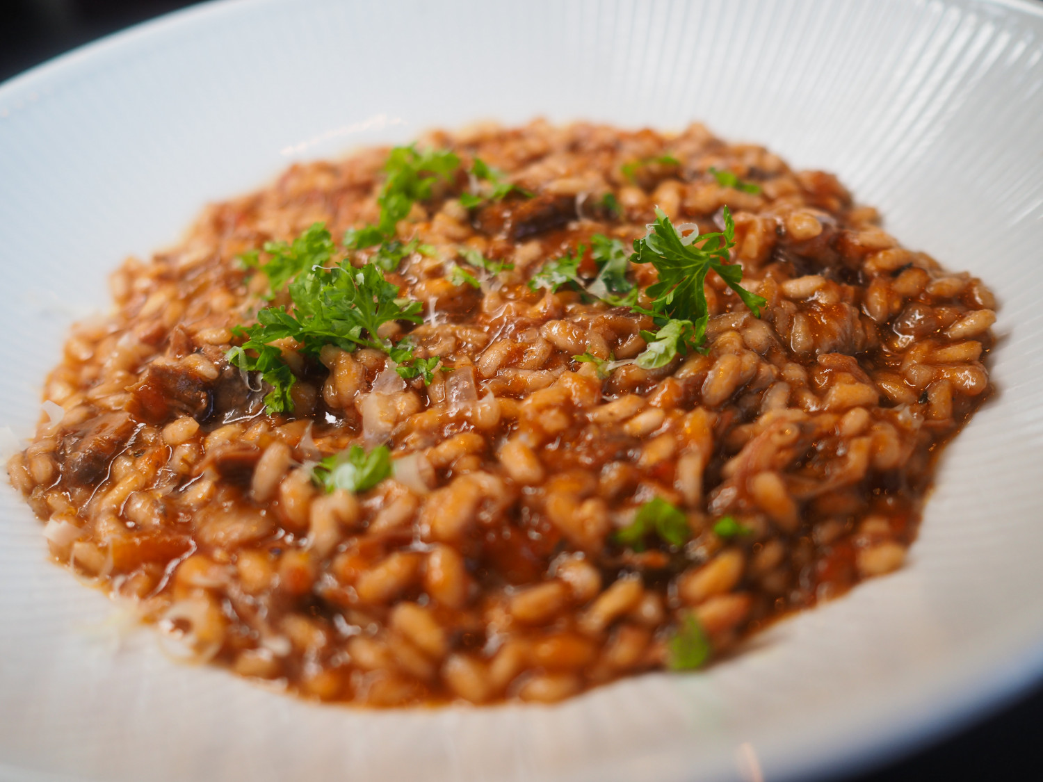 Risotto med lam lammerisotto