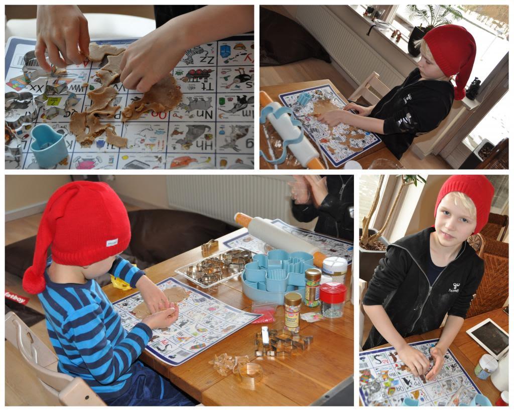 Julebag med børn