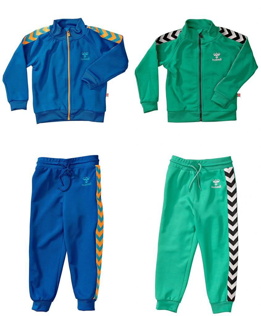 Hummel lukas o.s. zip + pants
