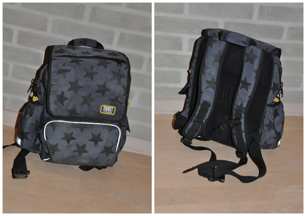 TTH skoletasker