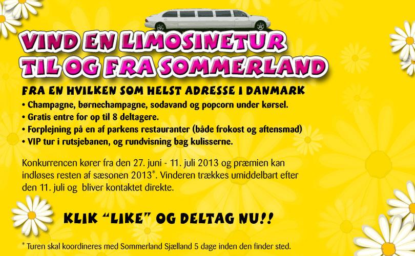 Sommerland Sjælland konkurrence