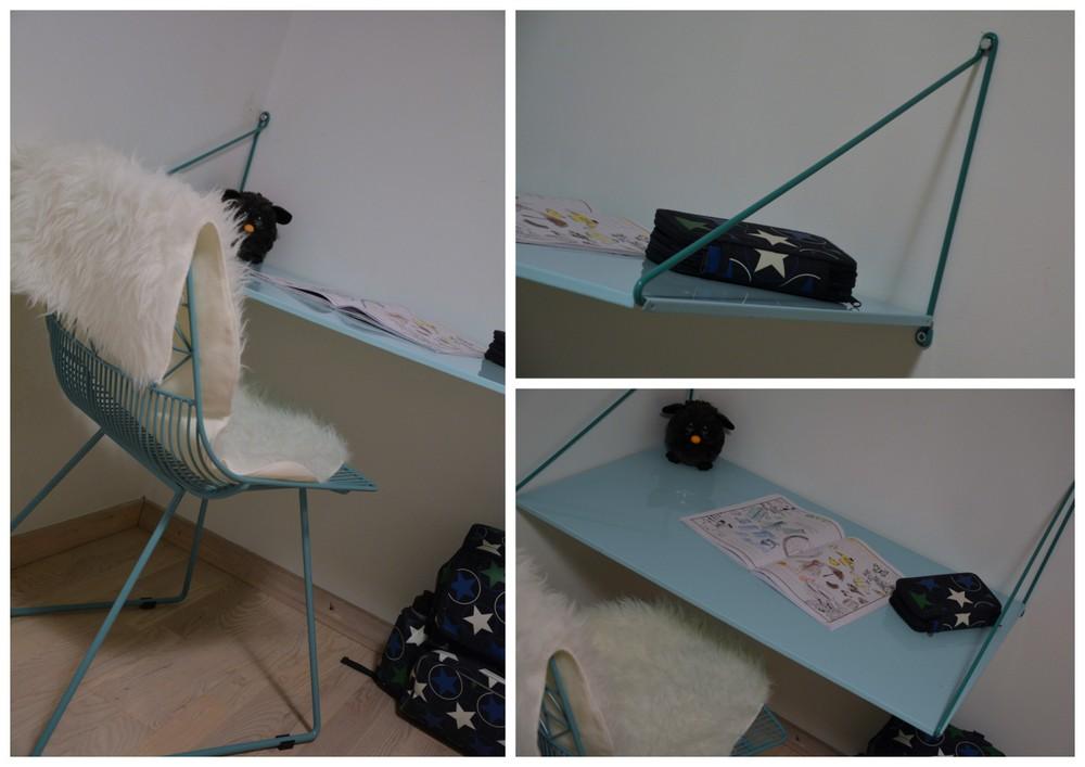 Sebra skrivebord