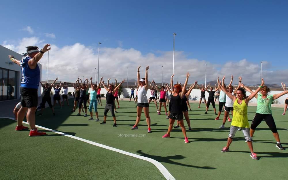 træningen på Club la Santa