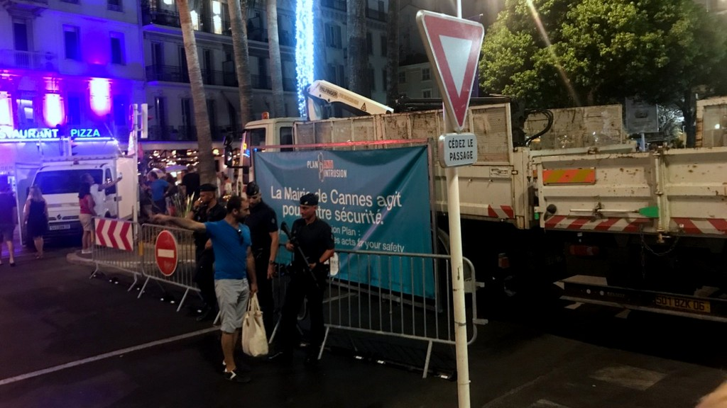 Fyrværkeri Cannes