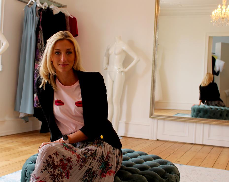 Annemette Voss blond Lasse Spangenberg
