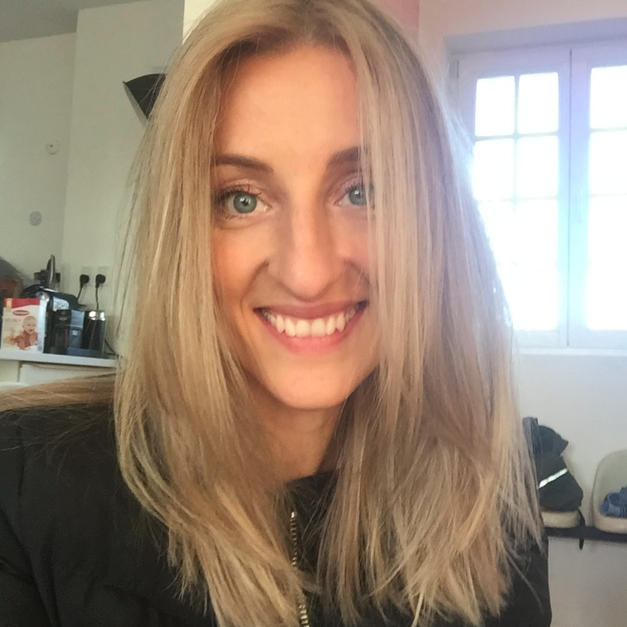 Annemette Voss blond makeover