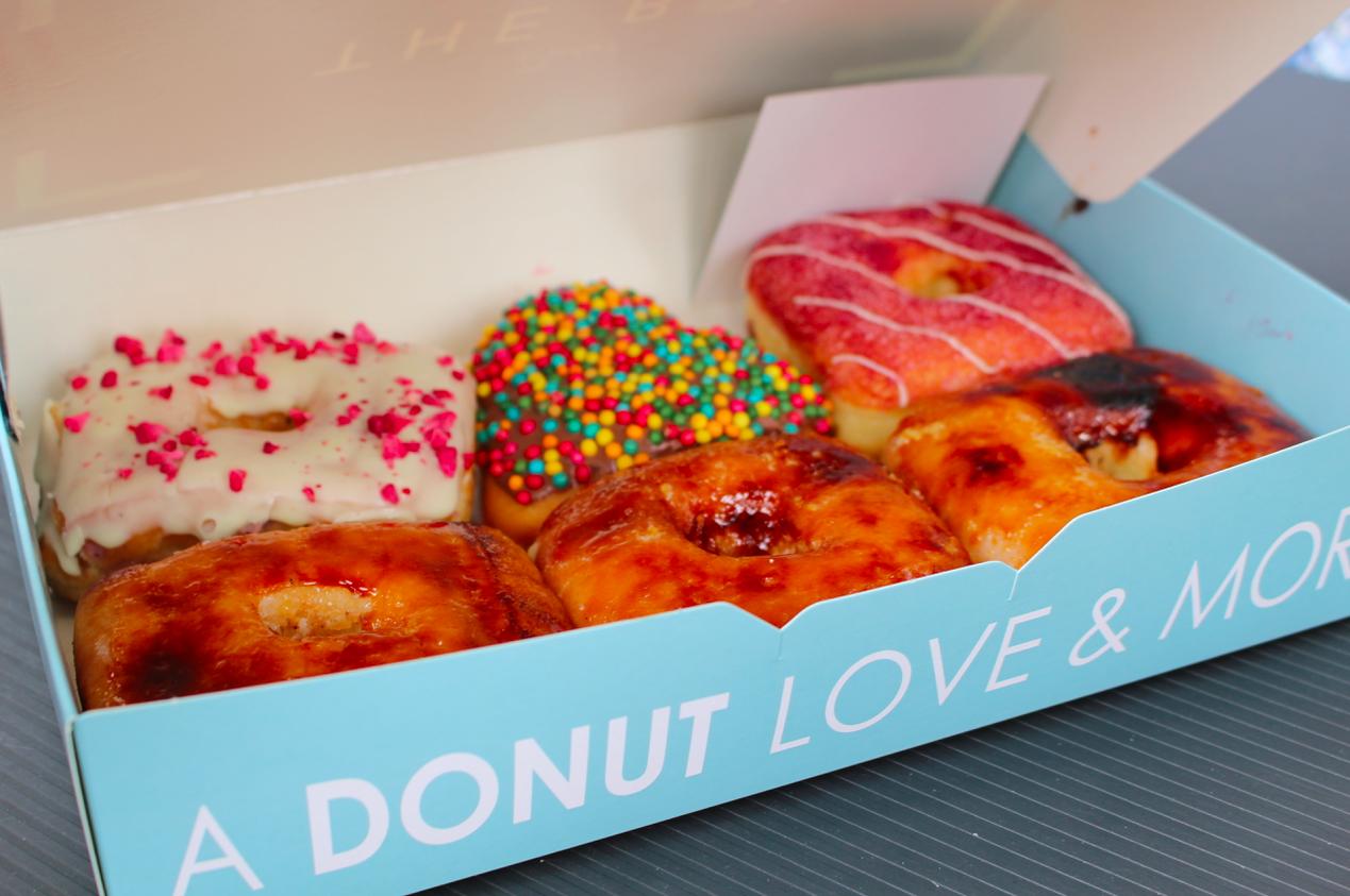 rejse til budapest box donut