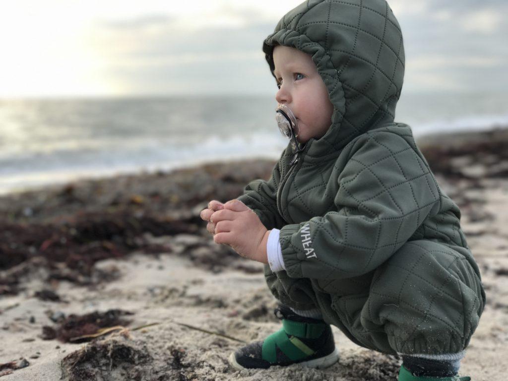Lalandia Luca på strand
