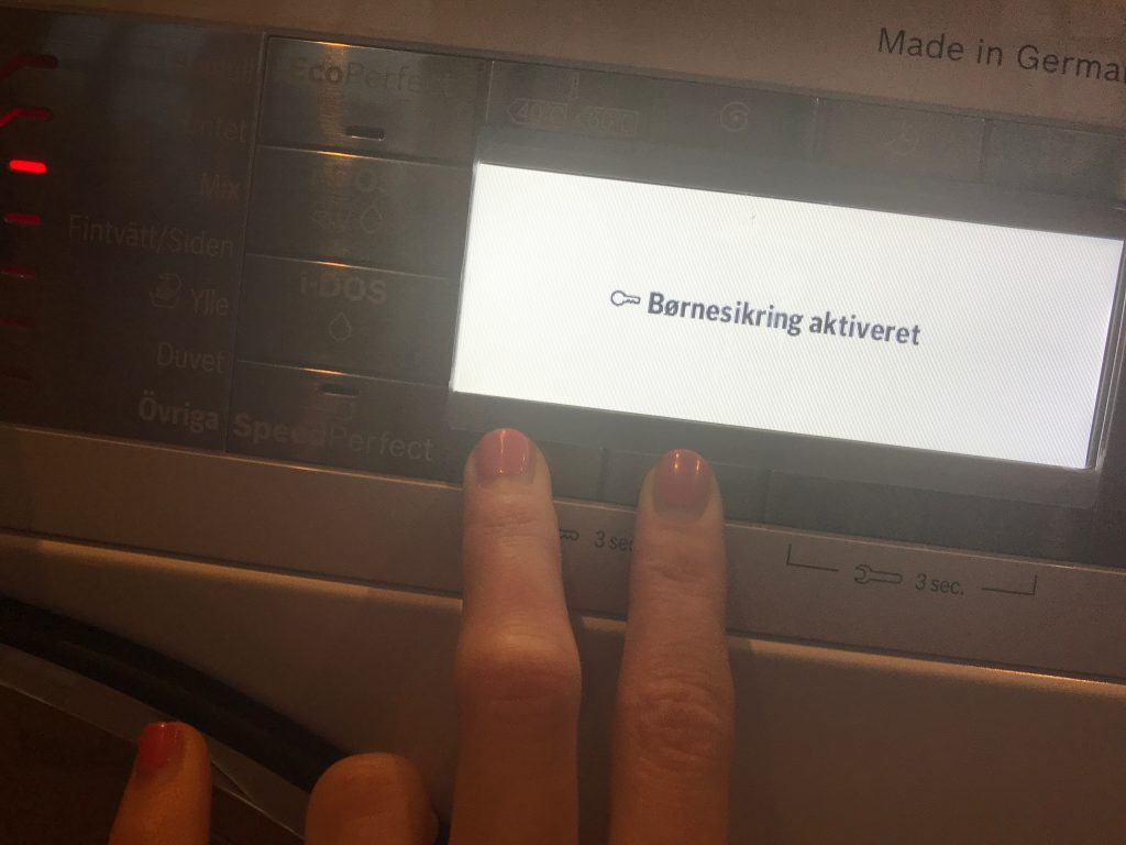 Bosch vaskemaskine anmeldelse