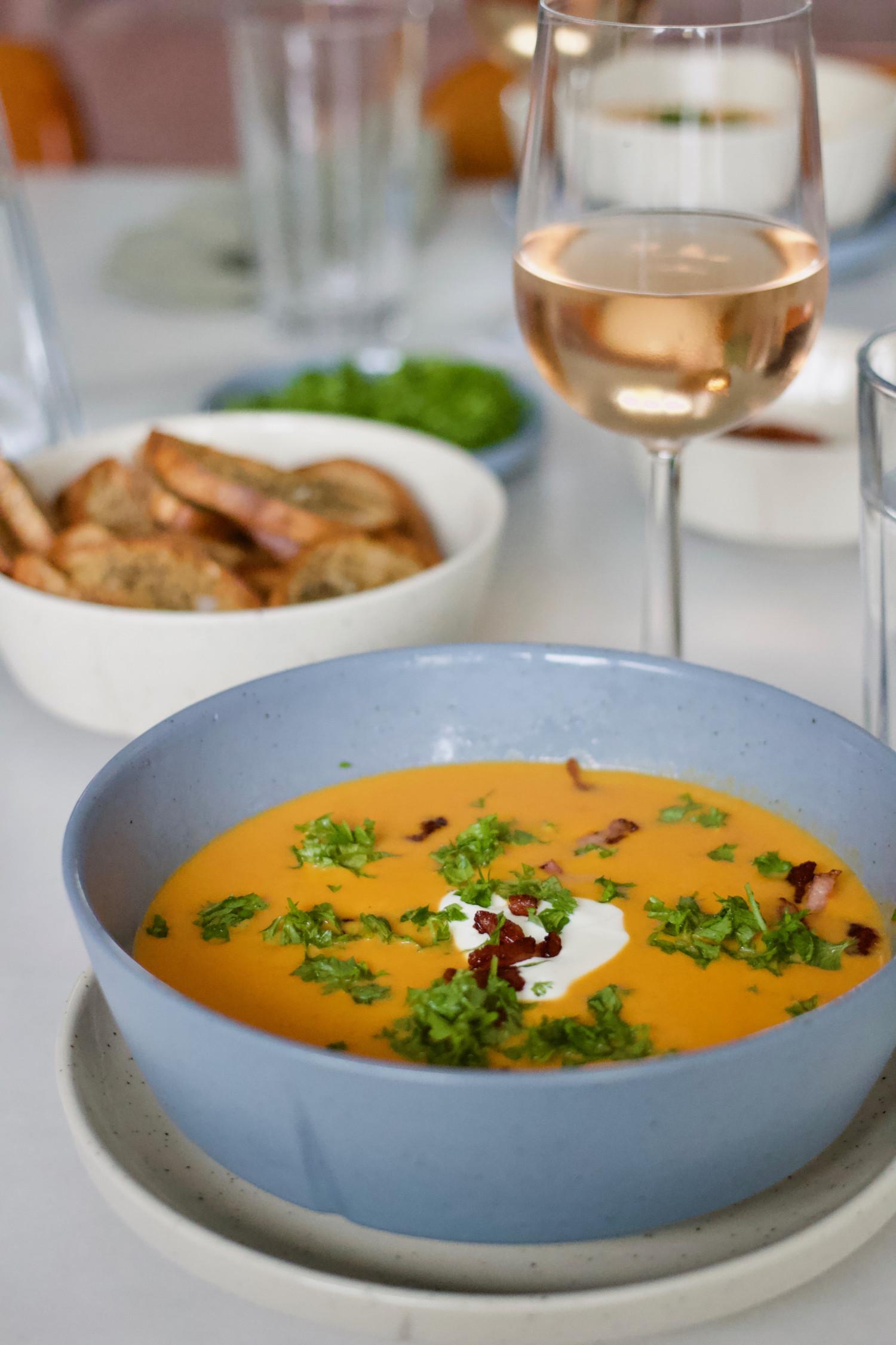 suppe med græskar Annemette Voss