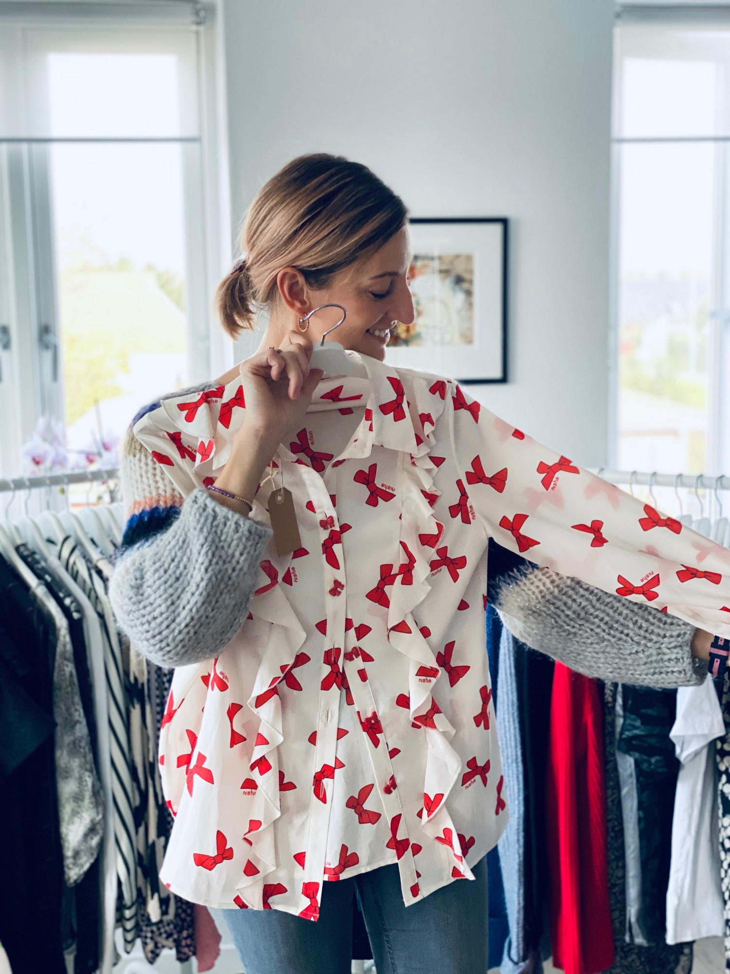 Annemette Voss second hand shopping