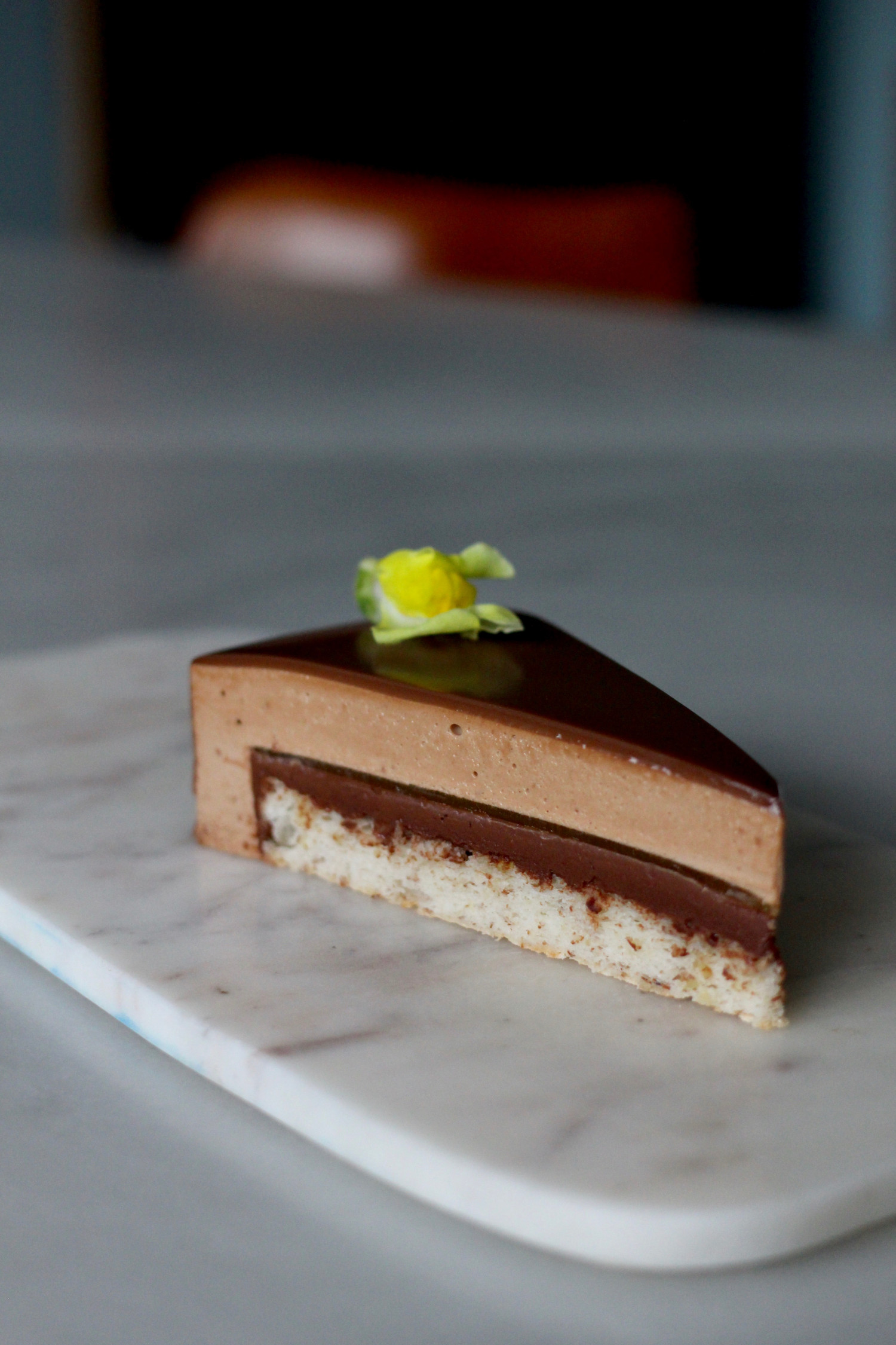 moussekage med passionfrugt Annemette Voss Callebaut5