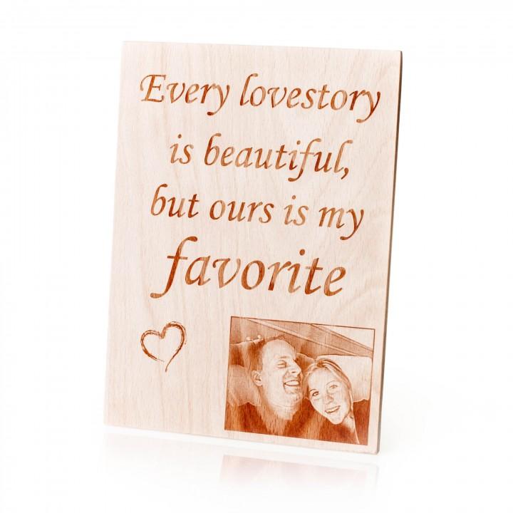 lovestory med billede