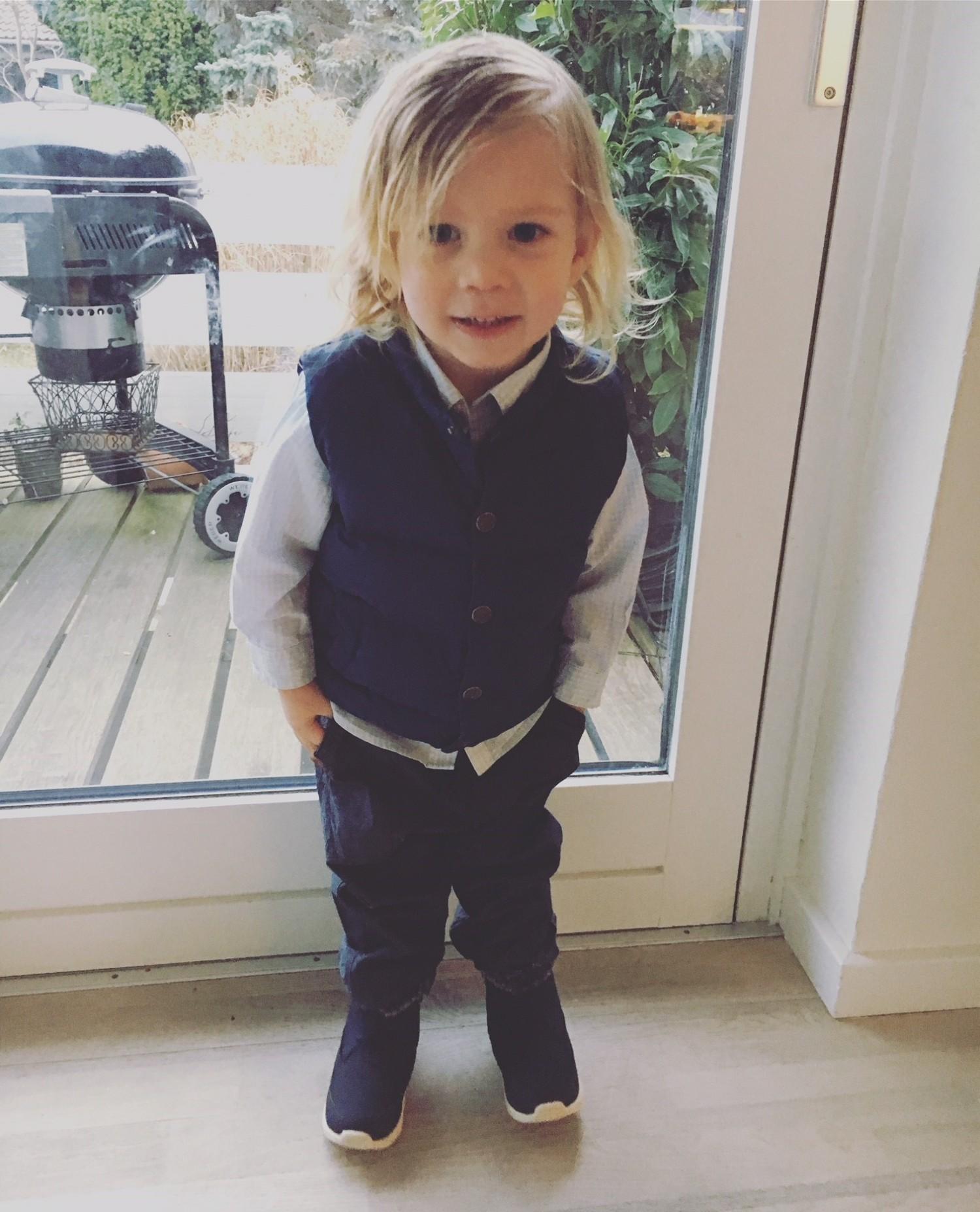 Louis Vincent 2 år