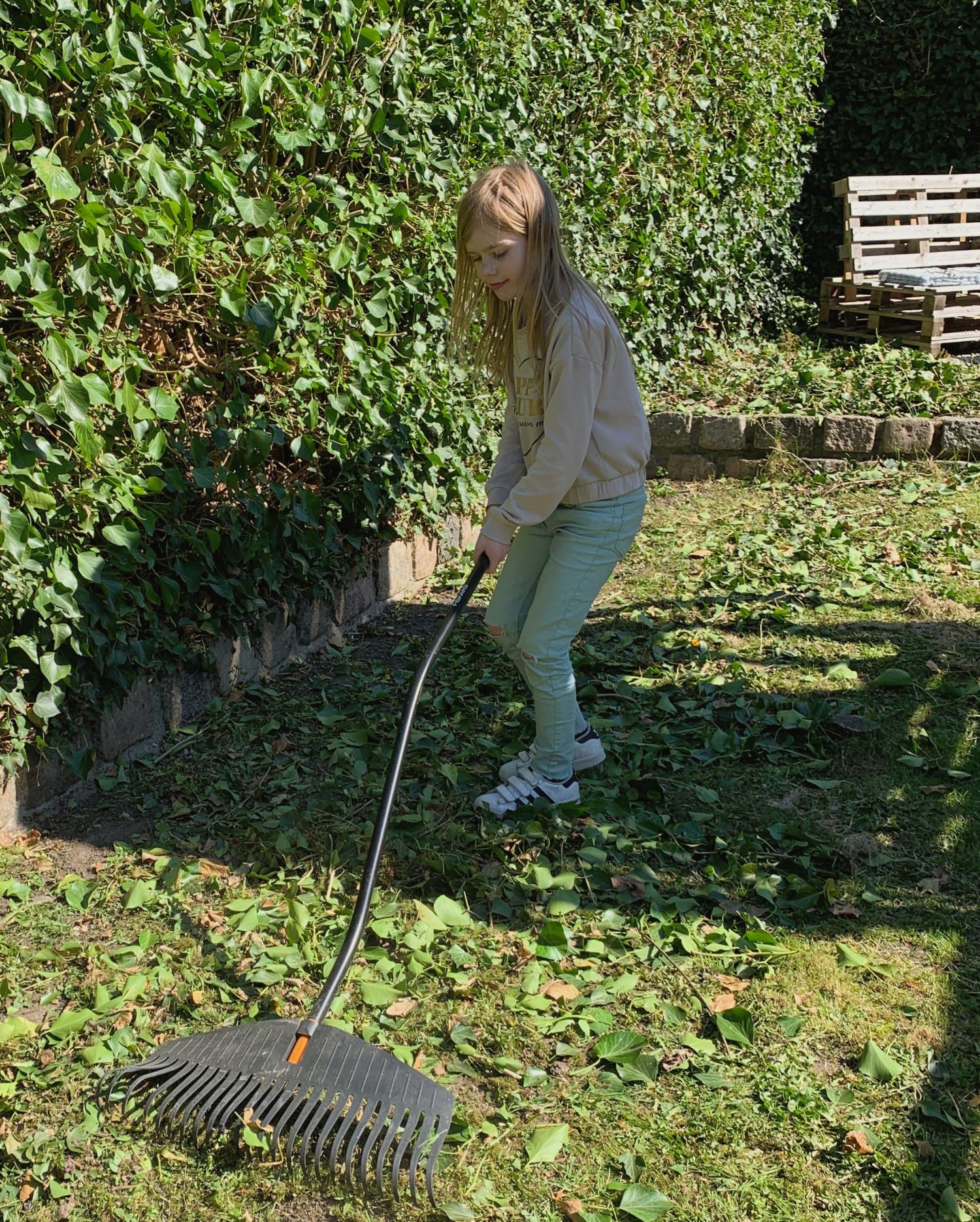 have havearbejde forår påskeferie børn familie