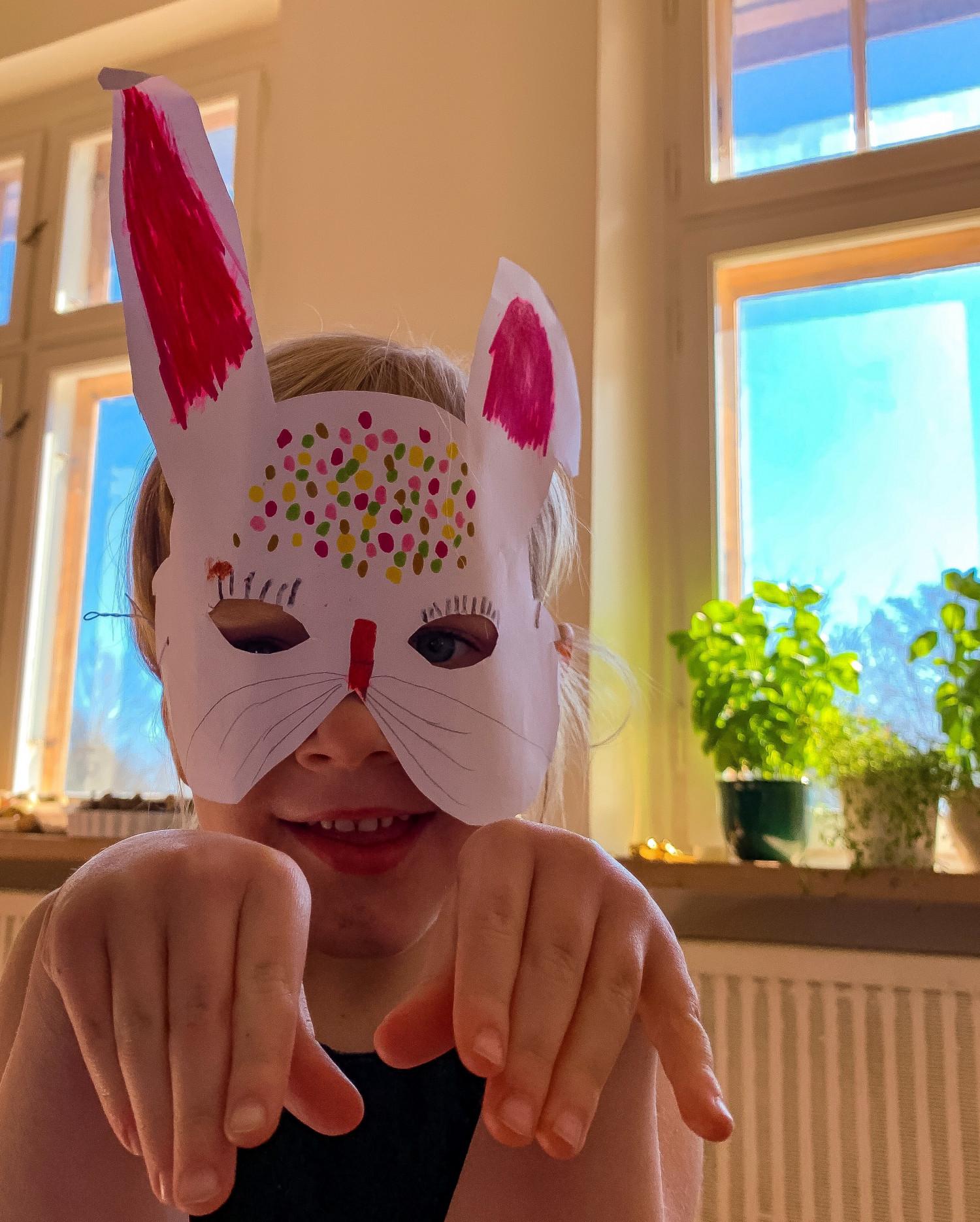 maske påske børn