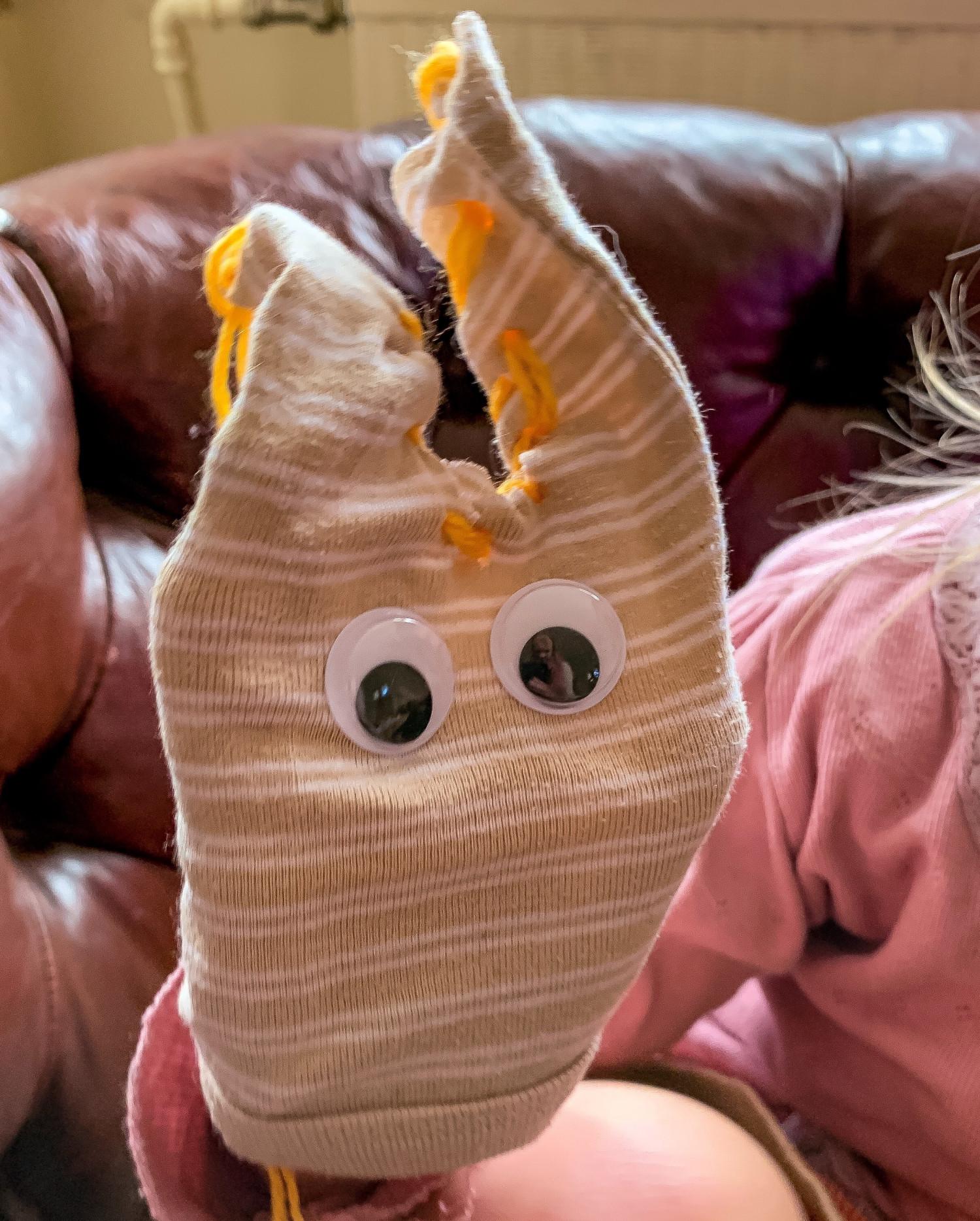 Påskehare sy børn påske krea idé