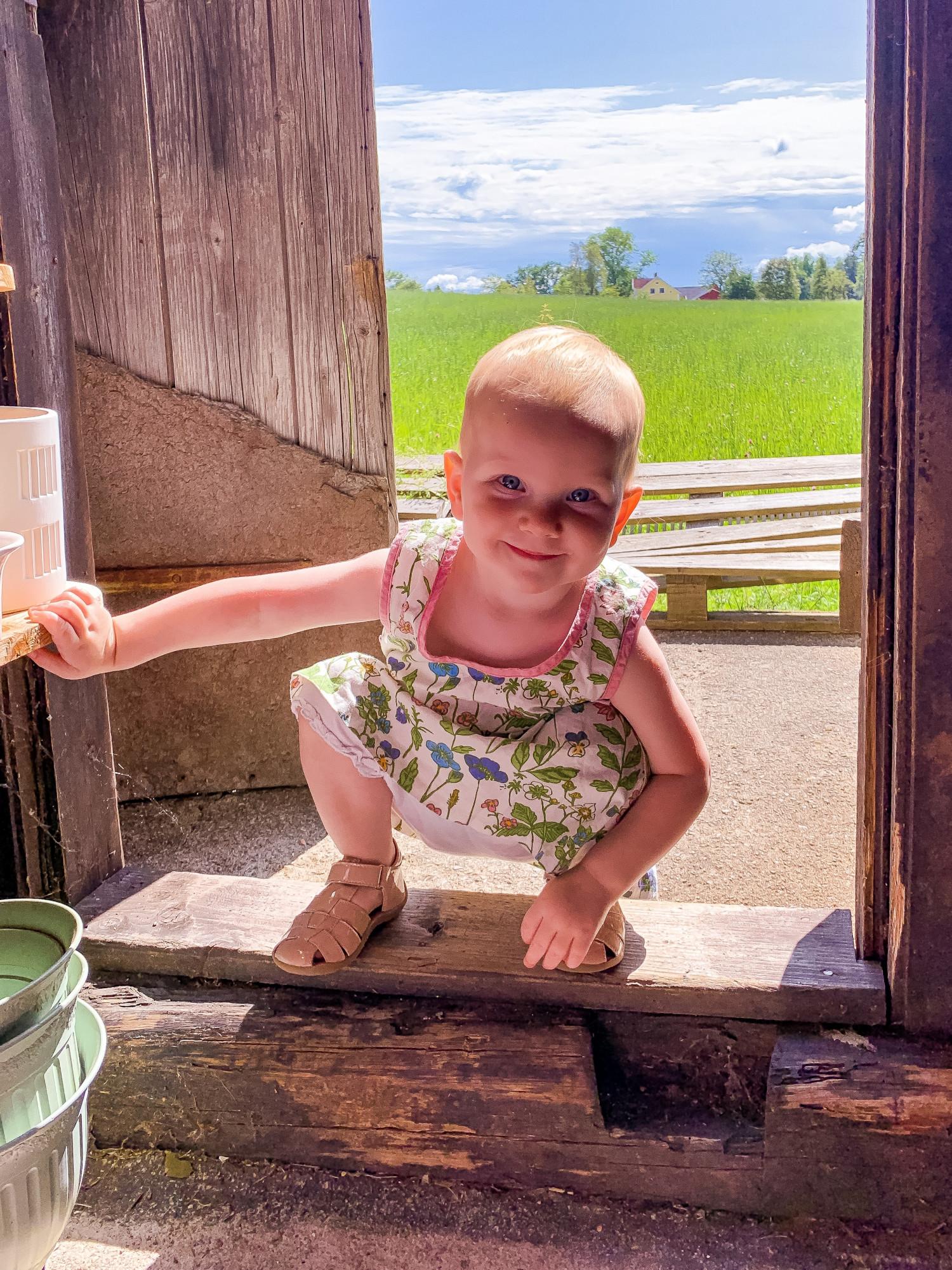 Blefri baby med tidlig pottetræning