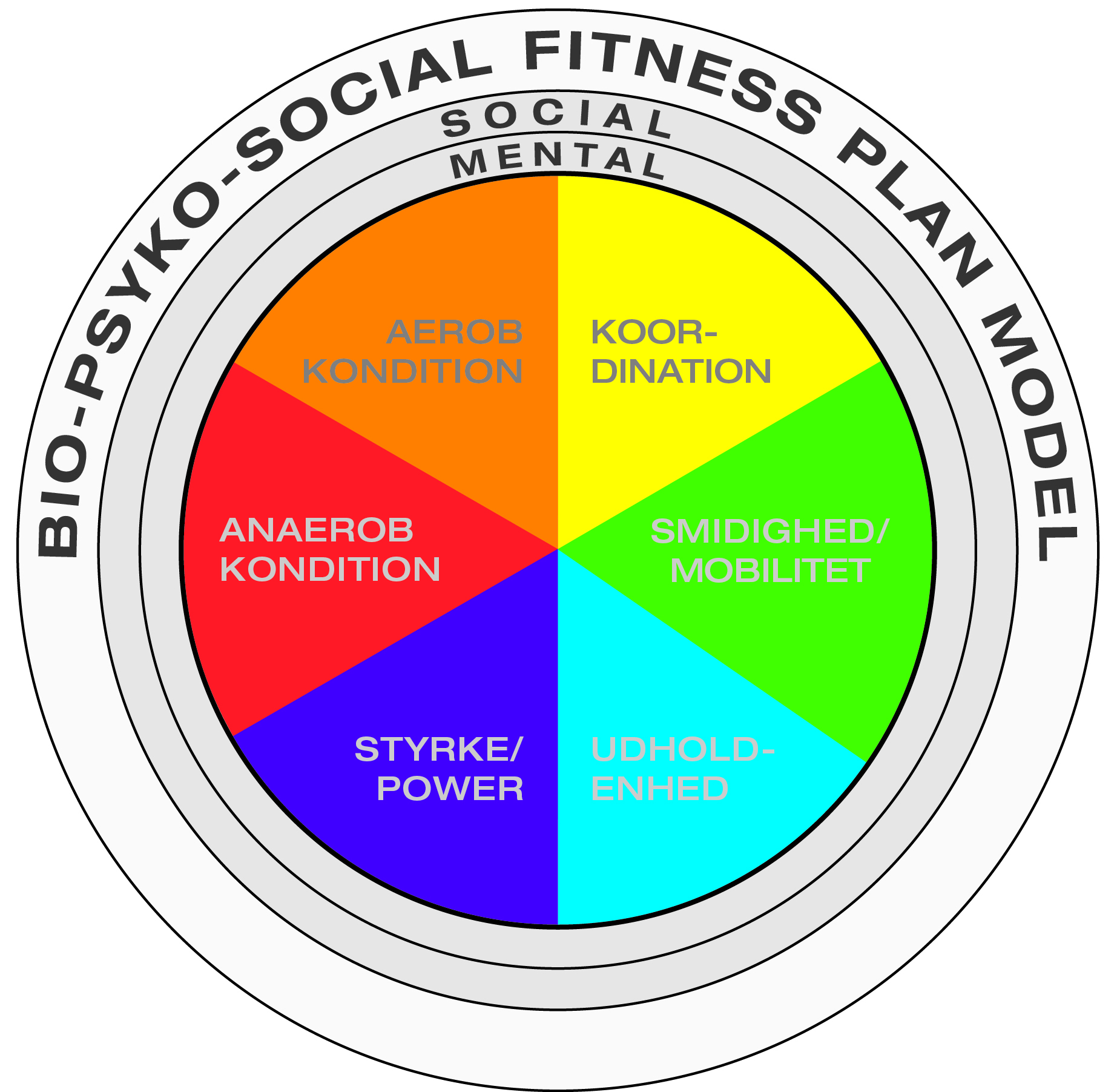 Bio-Psyko-Social Fitness Træningsplanlægning